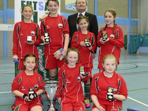 Dundonald Primary - Female Winners.jpg